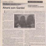 Ahora son Gardel (La Barra 2005)