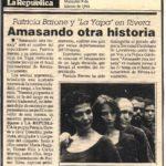 Amasando otra historia (La República- Uruguay1994)