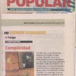 Complicidad (Diario Popular- 2015)