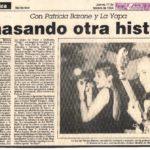 Con PB y La Yapa amasando otra historia (La República - 1994)