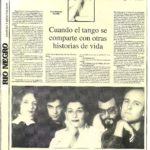 Cuando el tango se comparte... (Río Negro 1990)