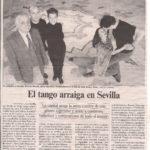 El tango arraiga en Sevilla (El País-2005)
