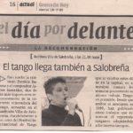 El tango llega a Salobreña (Granada Hoy - 2005)