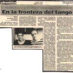 En la frontera del tango (La República- Uruguay-1994)