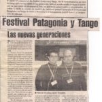 Festival Patagonia y Tango (El cordillerano)