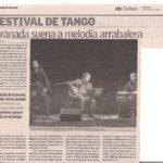 Granada suena a melodía arrabalera (La opinión de Granada- 2005)