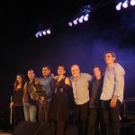 P.Barone y J.González Grupo (Mariela Fokas- Mariano Silva- Ariel Nürnberg- Luis de La Torre- Alejandro Ward) en Teatro de Quilmes.