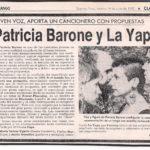 Joven voz aporta un cancionero con propuestas (Clarín)