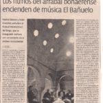 Los ritmos de arrabal encienden de música El Bañuelo (Granada Hoy (2005)