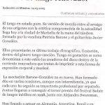 Noche de tango renovador (20 minutos - Granada-Marbella 2005)