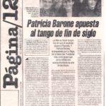 PB apuesta al tango de fin de siglo (Pág.12 1996)