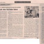 Tango que me hiciste bien (La Barra- 2005)
