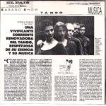 Una vivificante corriente renovadora (El País- Uruguay-1994)